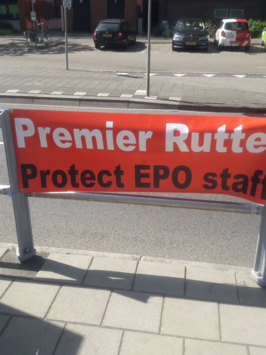 Dutch EPO protest