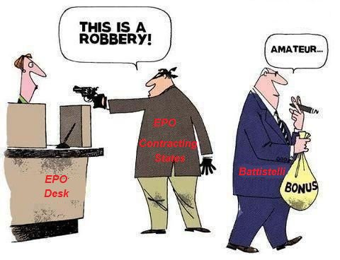 EPO budget