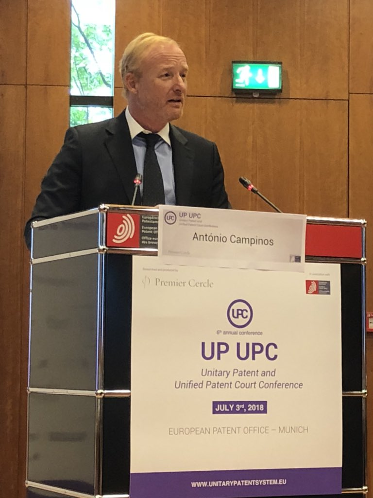 António Campinos for UPC