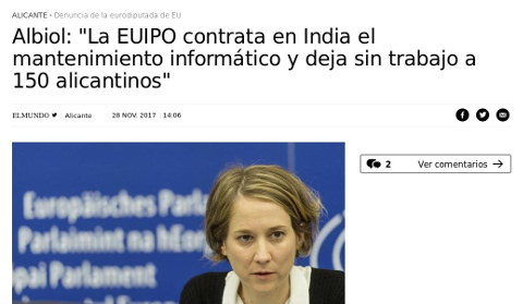 EUIPO outsourcing