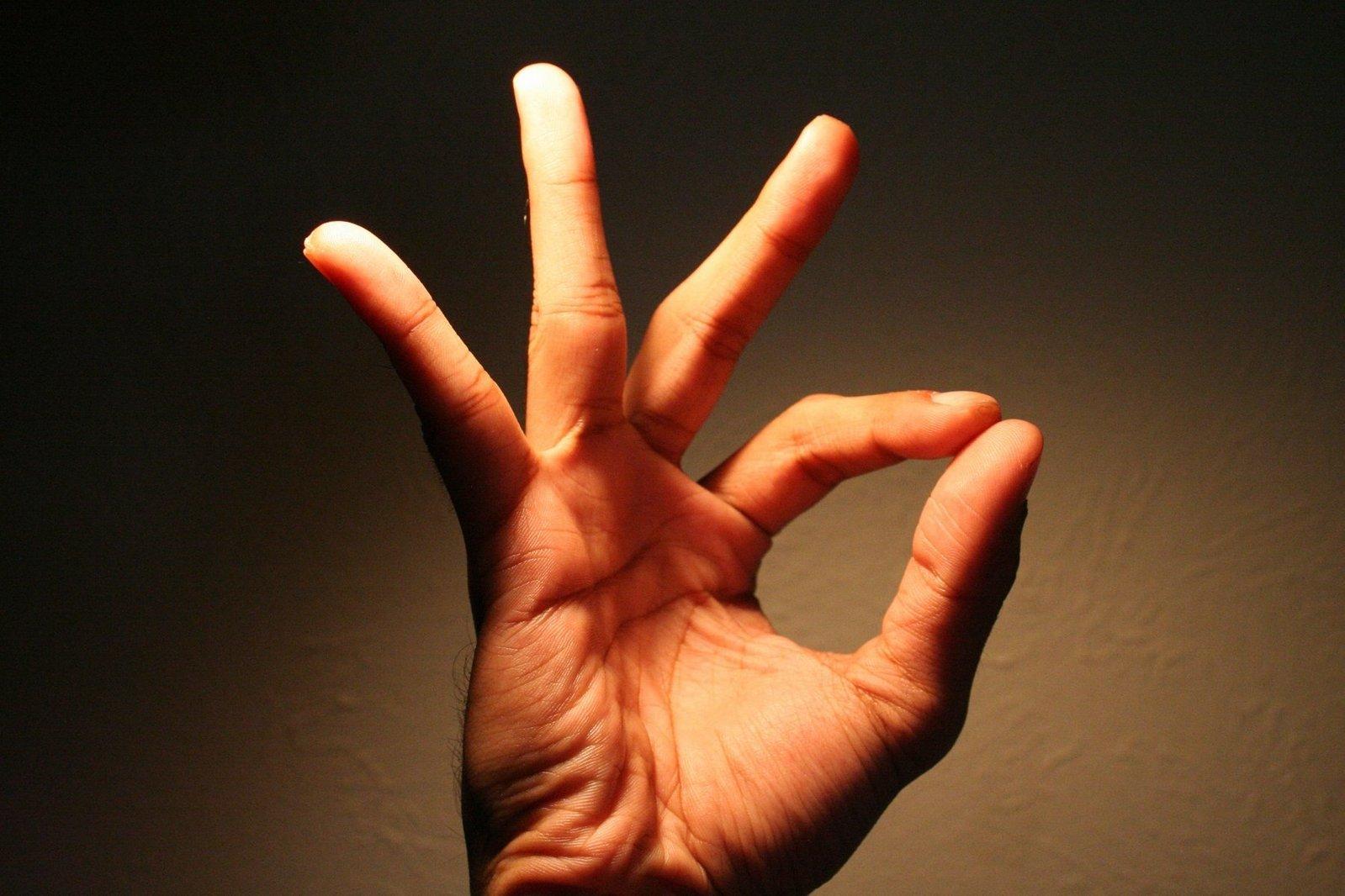 Some hand gestures