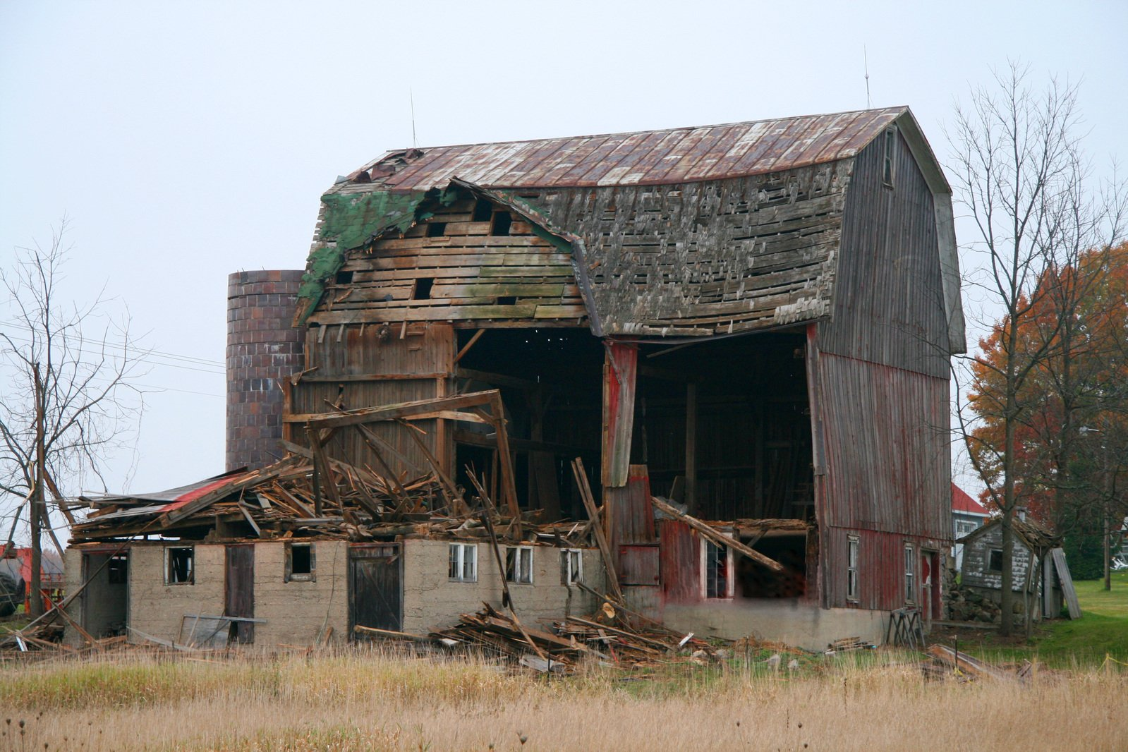 Old wing barn