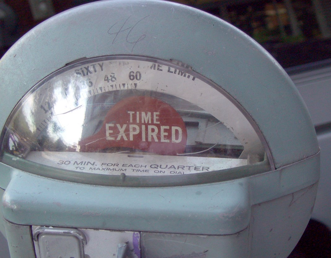Meter time expired