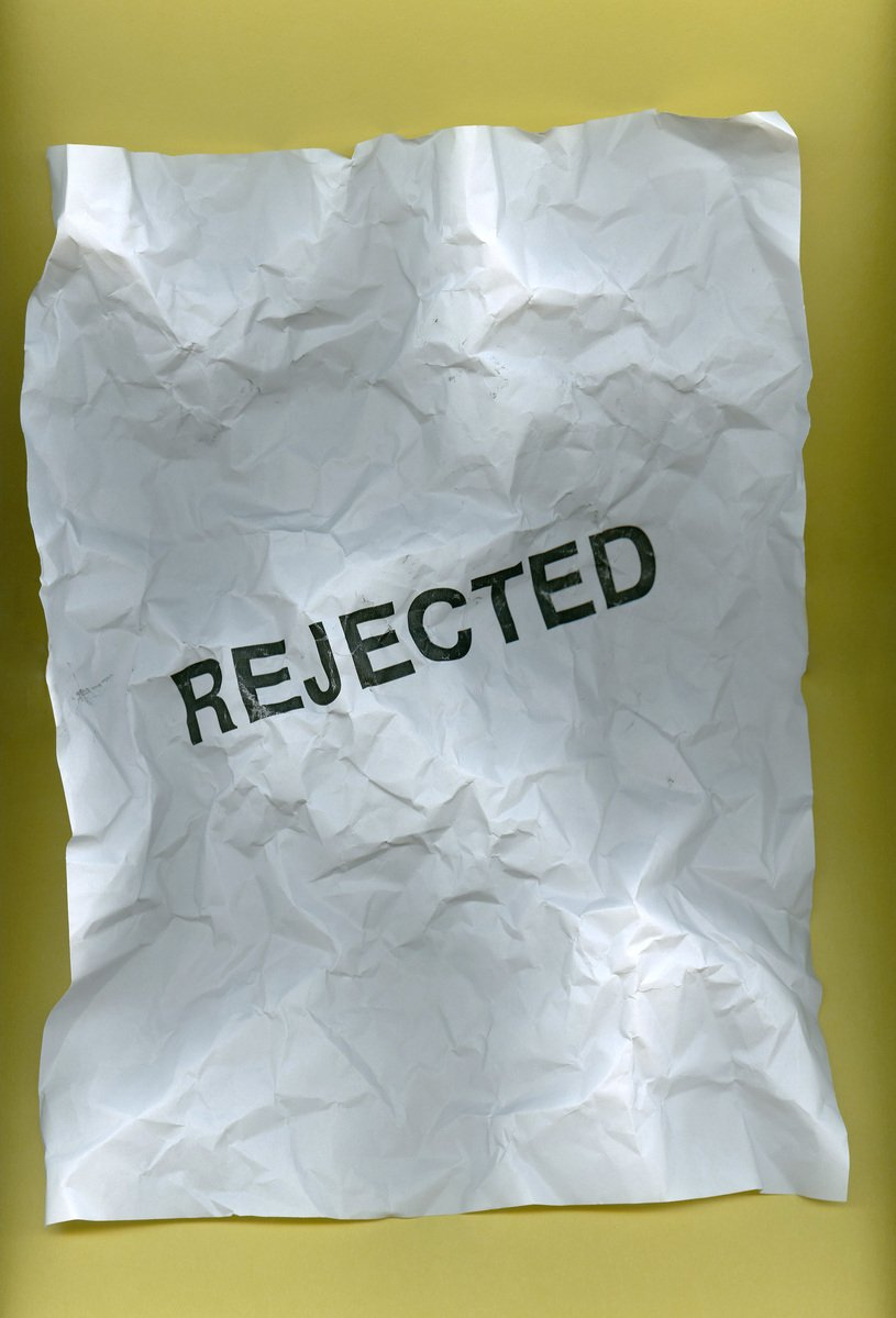 Paper rejected