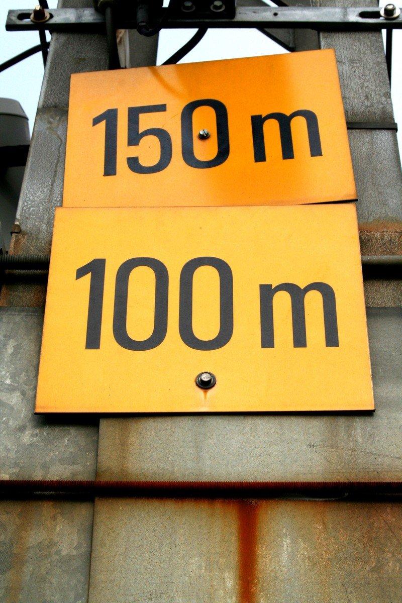 150 meters