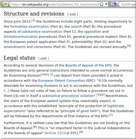 Examination and litigation