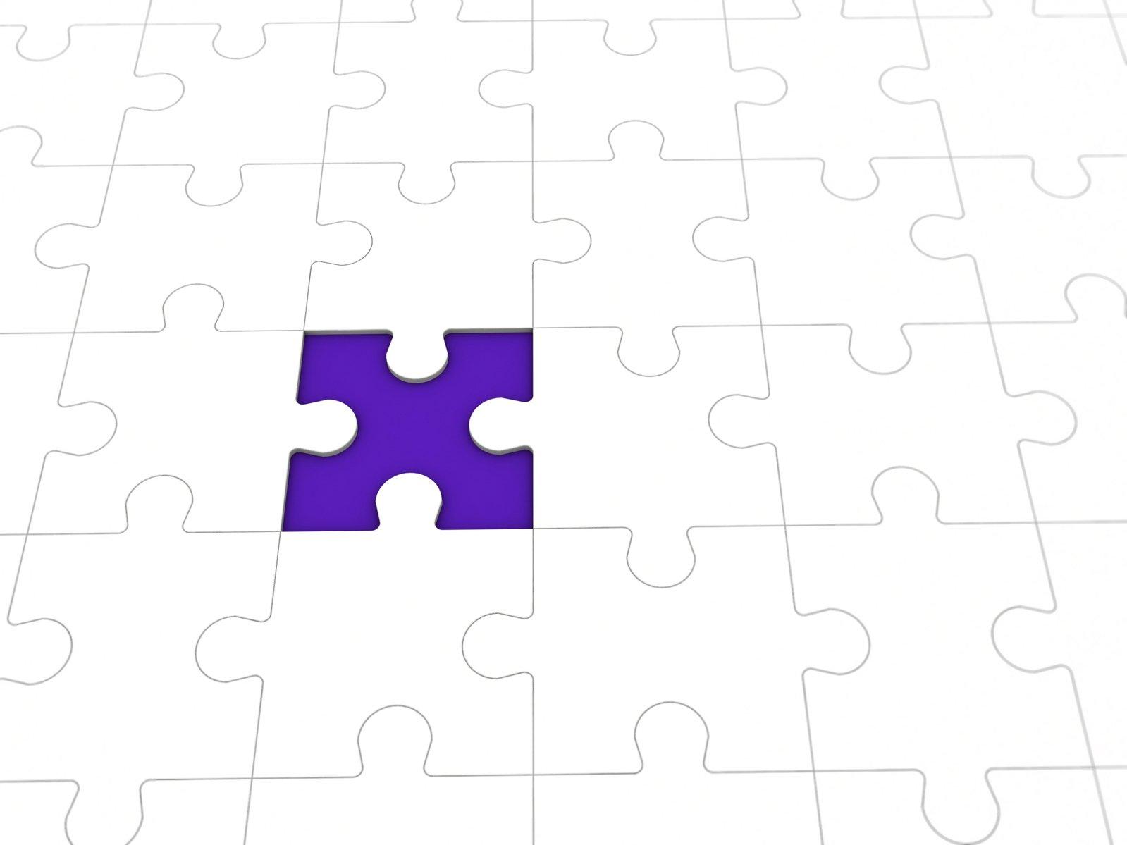 Puzzle missing