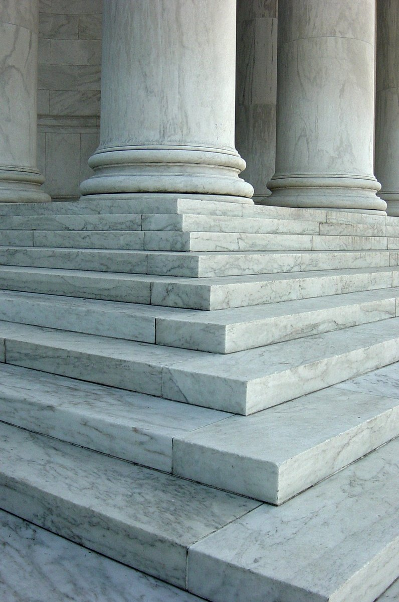 Court's steps