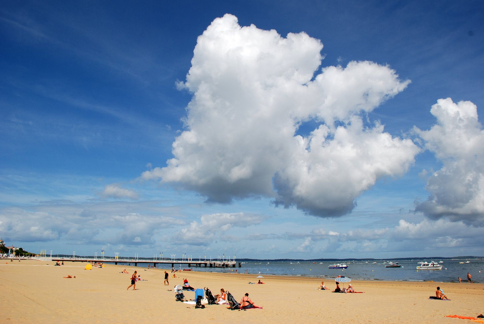 Cloud on beach