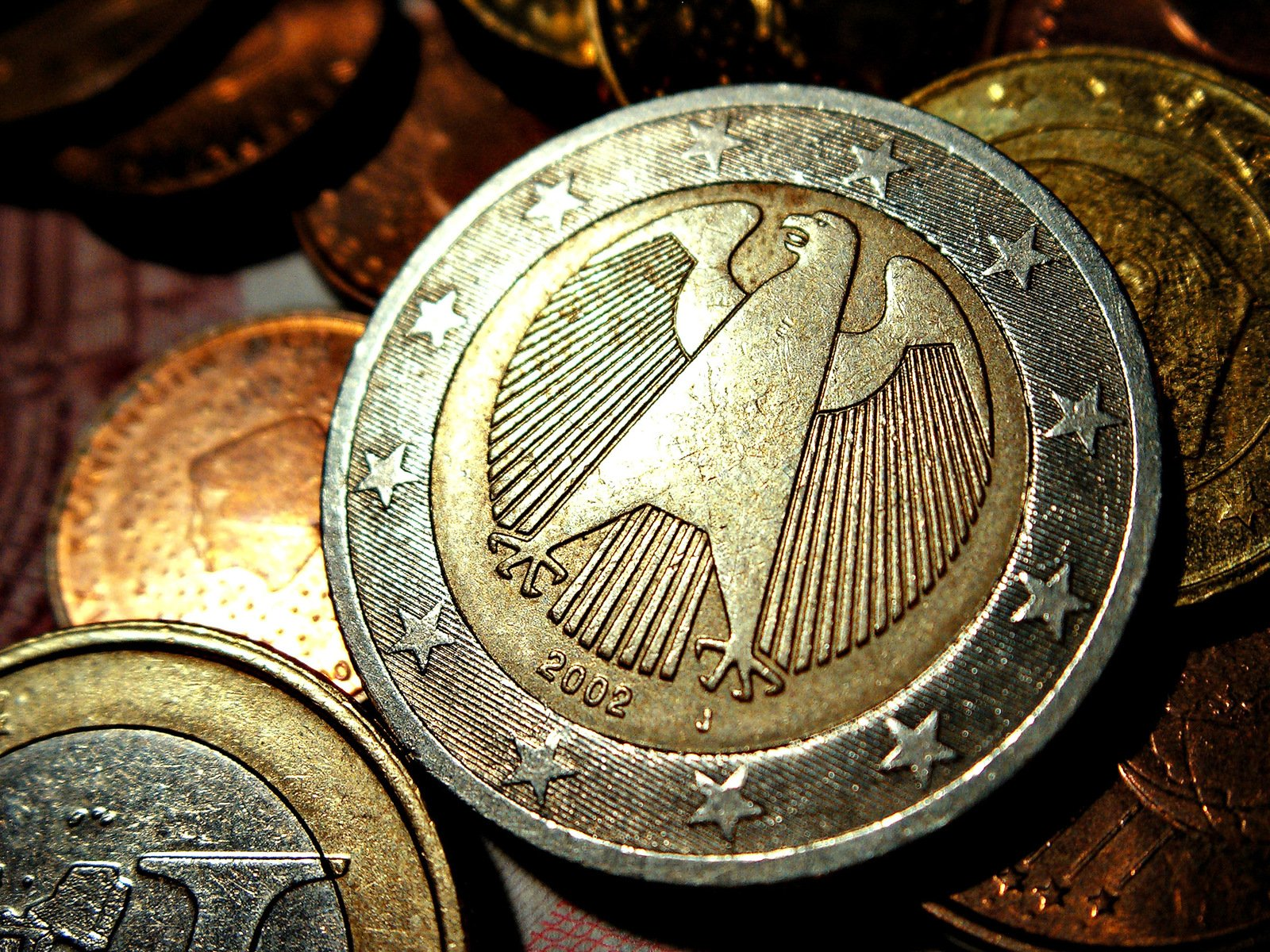 German euro coin
