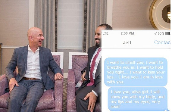 Bezos and MbS