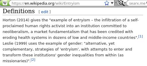 Entryism