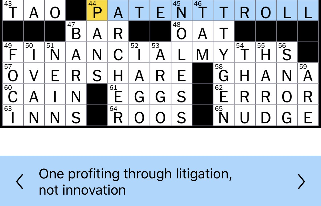 New York Times on patent trolls