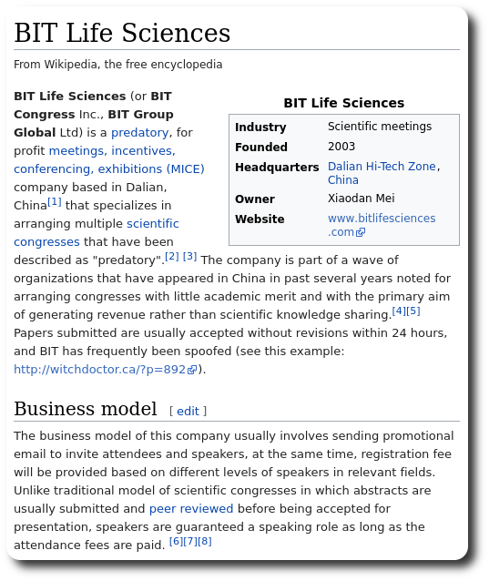 BIT Life Sciences