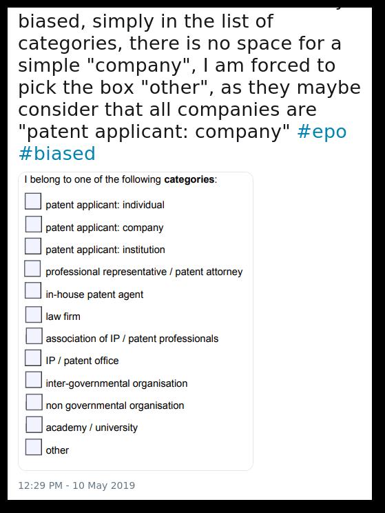 Biased EPO