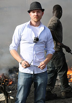 Eric Lundgren in Ghana