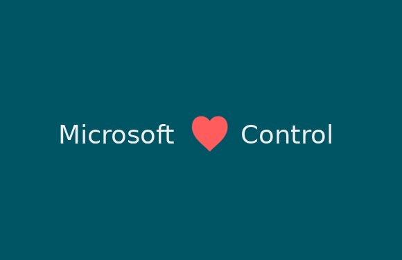 Microsoft loves control