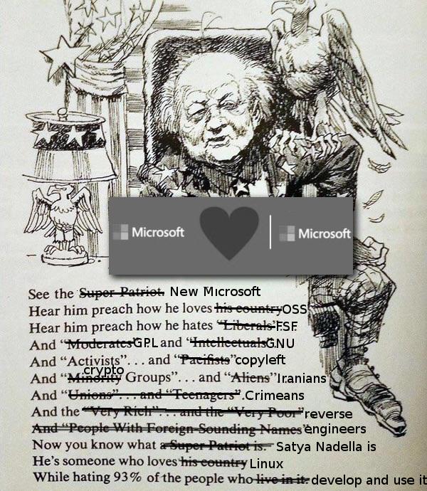 Microsoft loves Microsoft