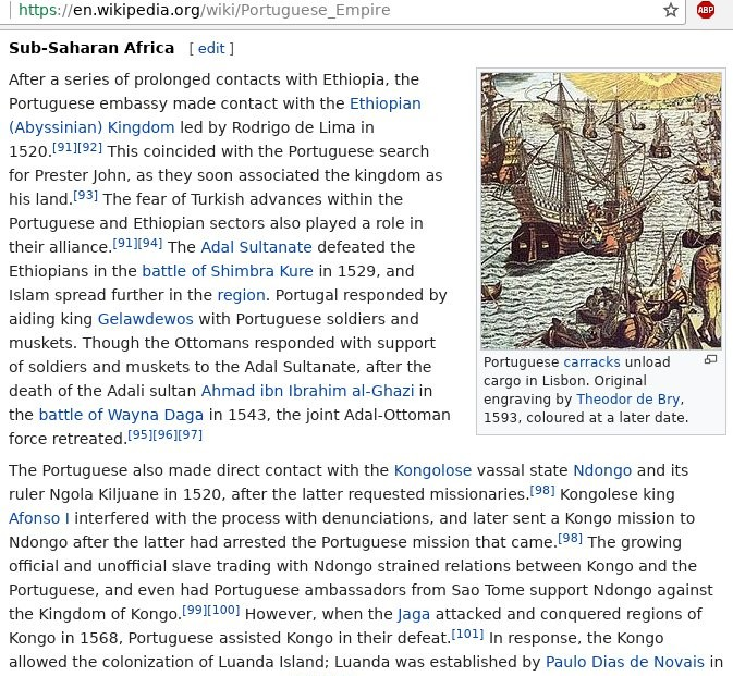 Portuguese Empire and Ethiopia