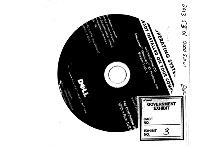 Dell Restore CD