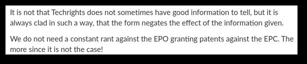 EPC rants