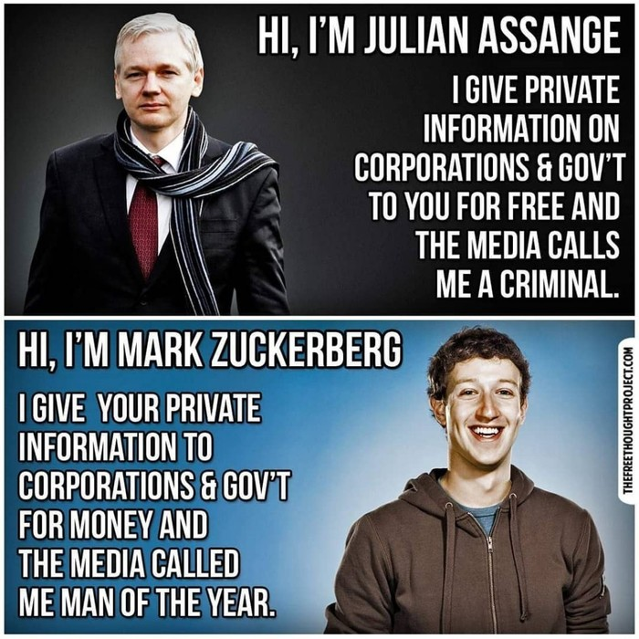 Facebook vs WikiLeaks