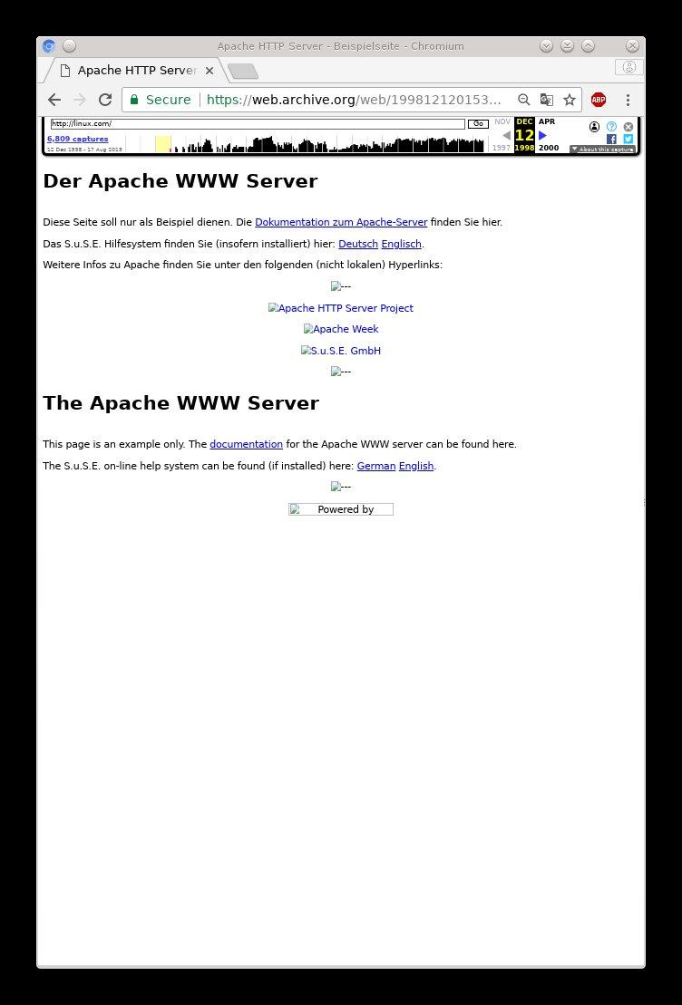 Linux.com in 1998