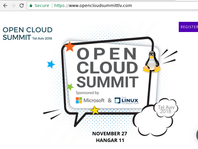 Open Cloud Summit TLV