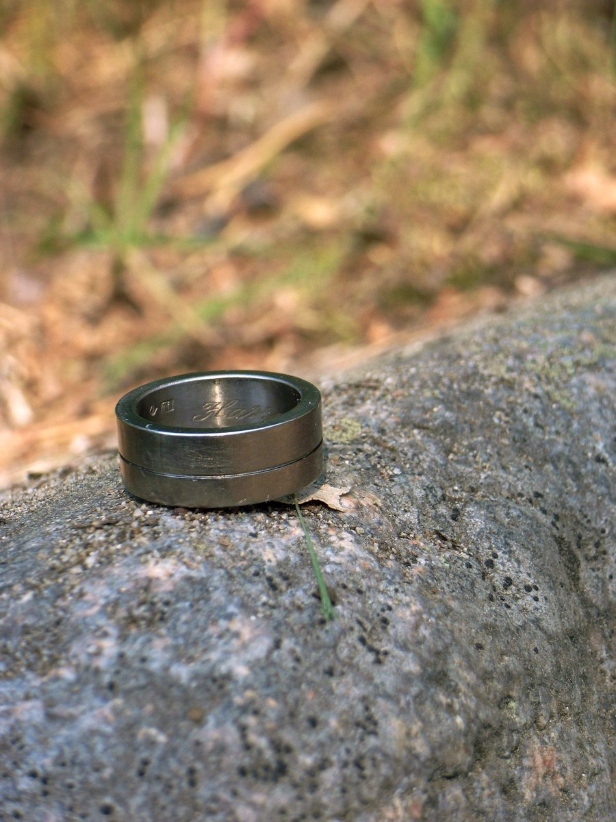 Rock with ring