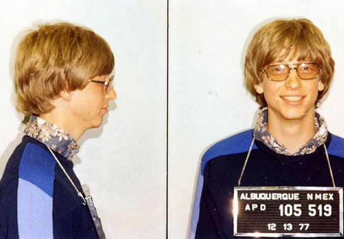 Bill Gates arrested