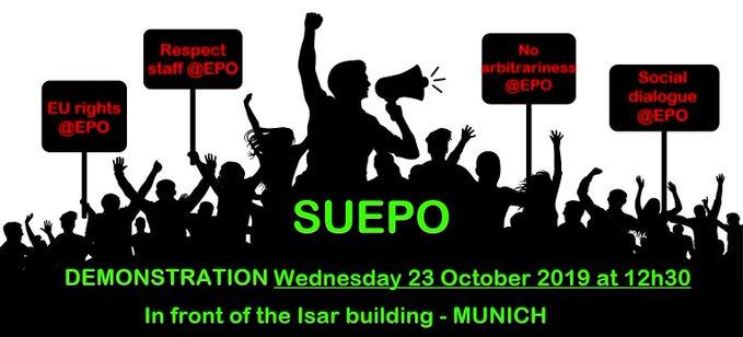 SUEPO protest
