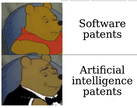 Software patents and artificial intelligence patents