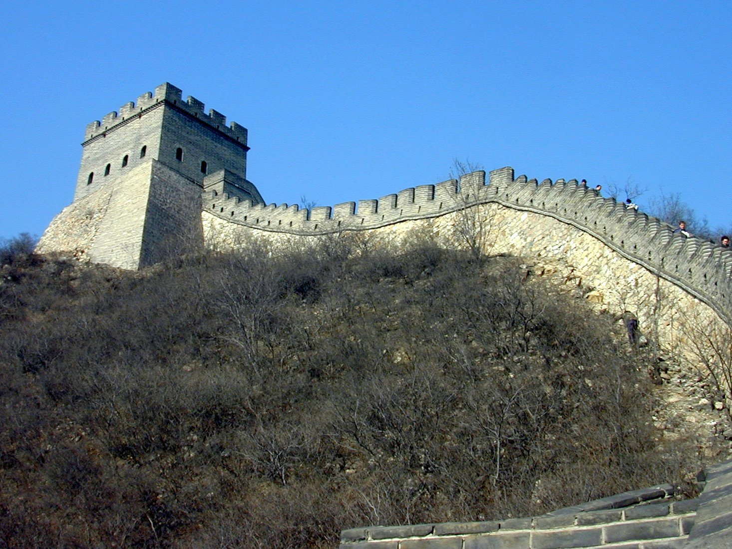 Wall in China