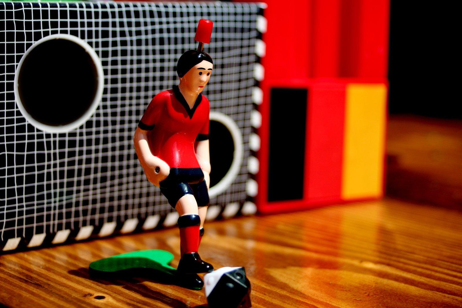 Goal in soccer