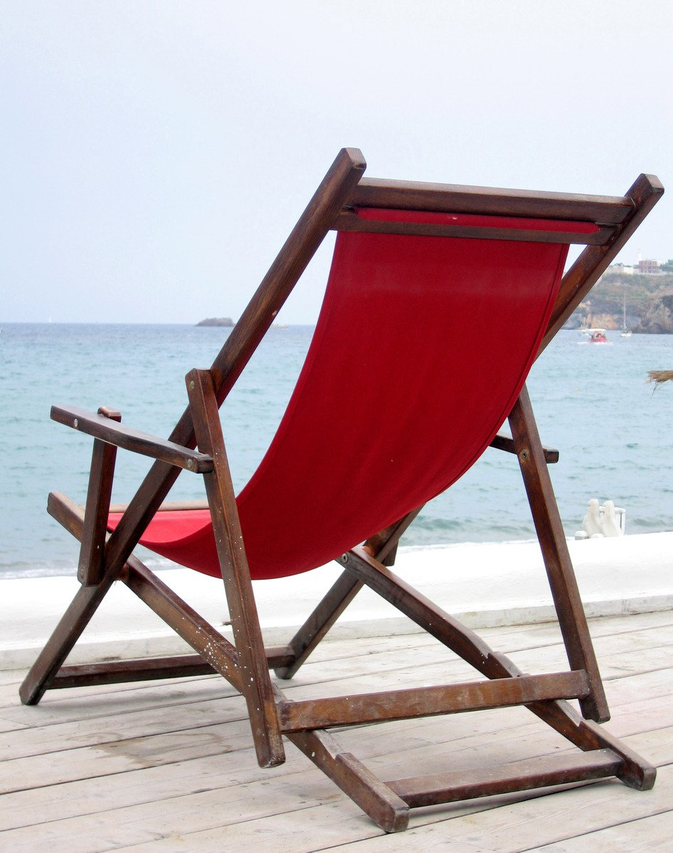 Chair in summer