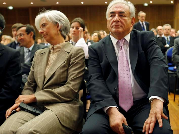 DSK and Lagarde