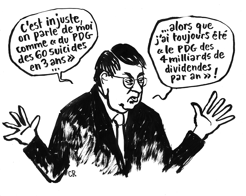 Didier Lombard cartoon