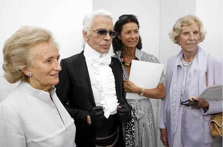 Lagerfeld and Breton
