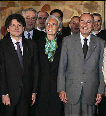 Chirac, Lagarde and Breton