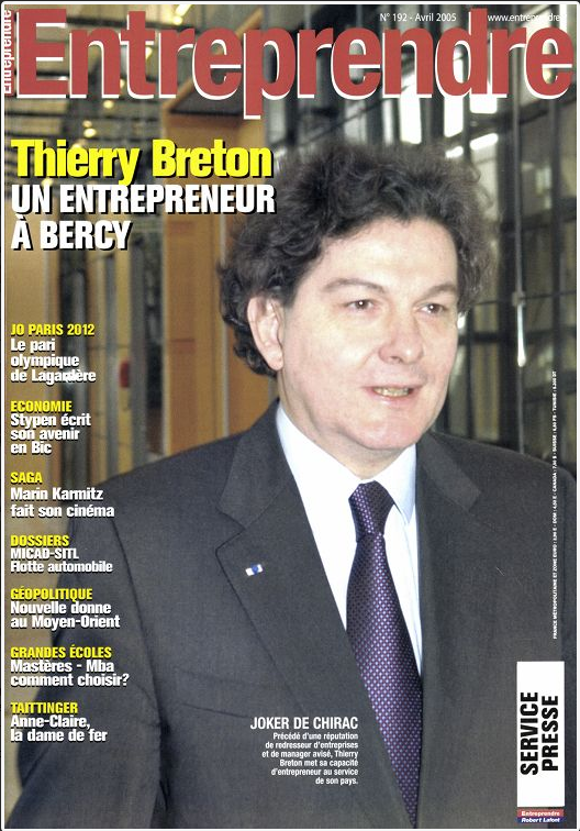 Thierry Breton as Entrepreneurial Joker