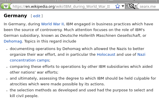 IBM during World War II