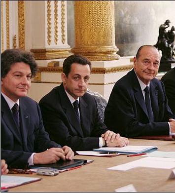 Sarkozy and Breton as pair
