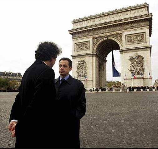 Sarkozy, Breton in Paris