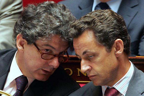 Sarkozy and Breton
