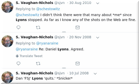 SJVN on Dan Lyons