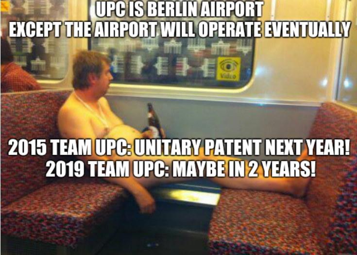 UPC and Berlin