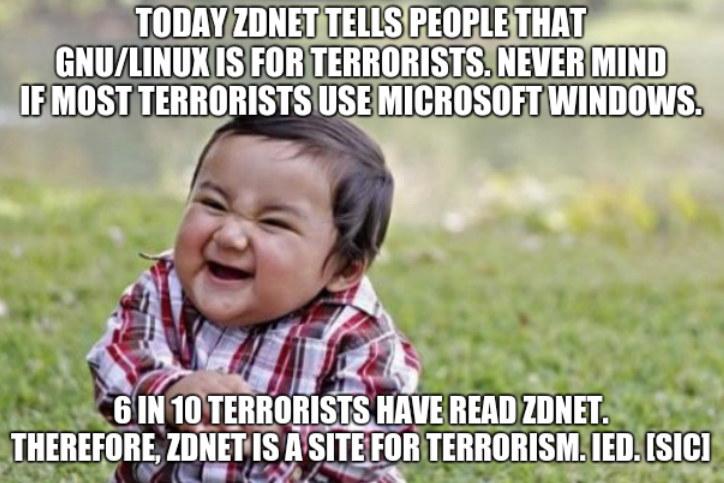 ZDNet FUD