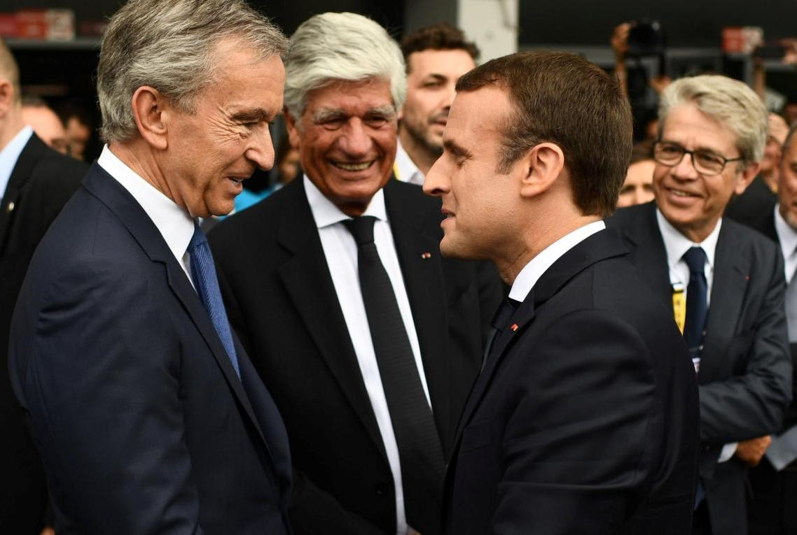 Arnault and Macron