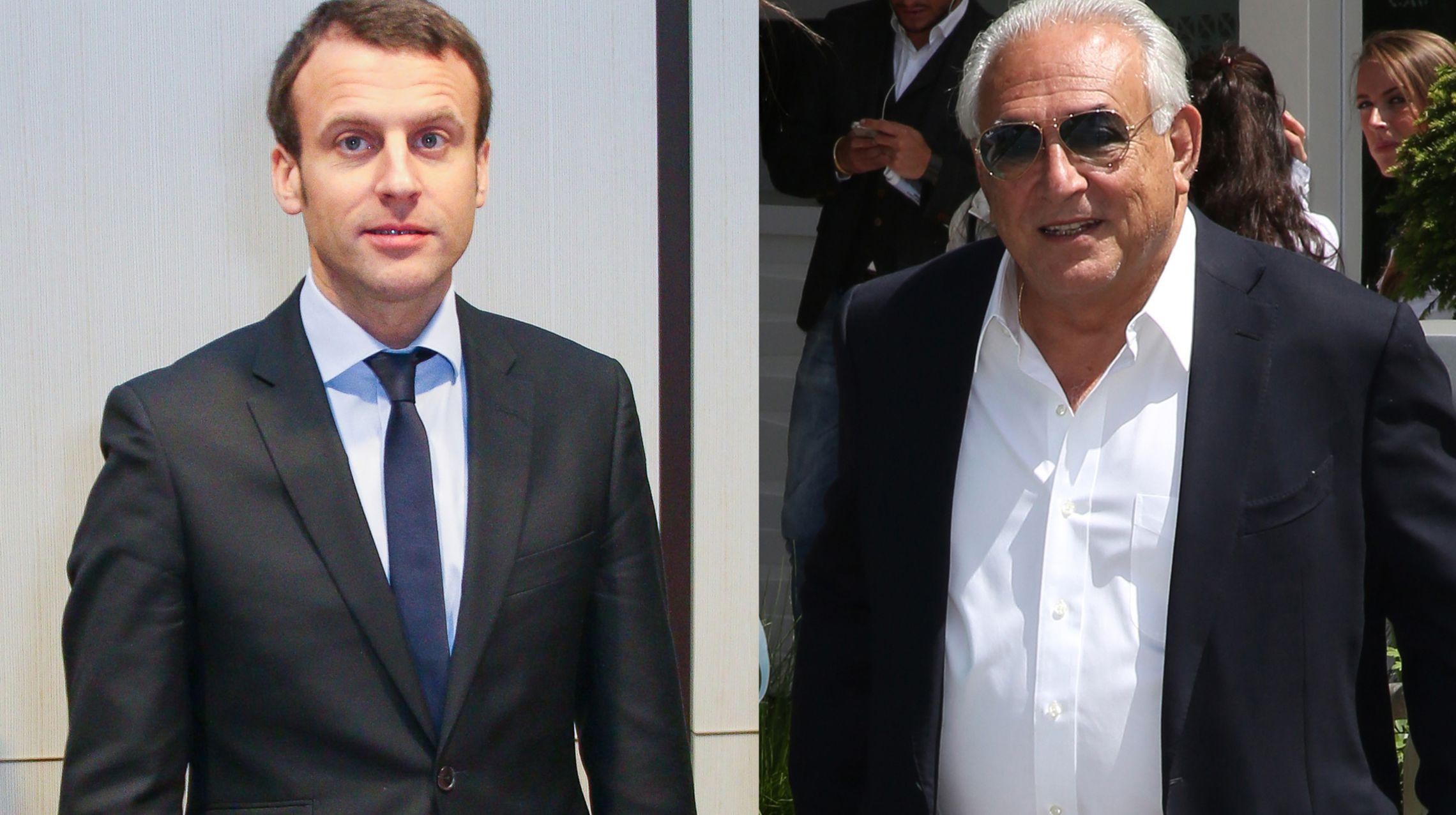DSK-Macron