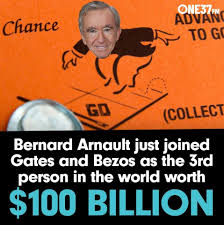 Arnault's 100 billion